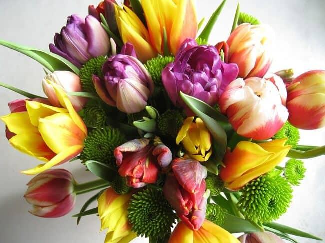 Resultado de imagen de Ramo de flores